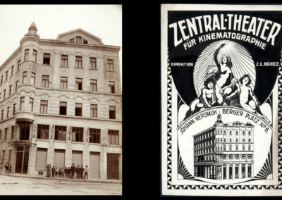 Zentral-Theater für Kinematographie, around 1906