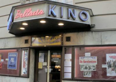 Bellaria Kino, Eingang