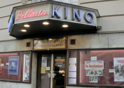 Bellaria Kino, entrance