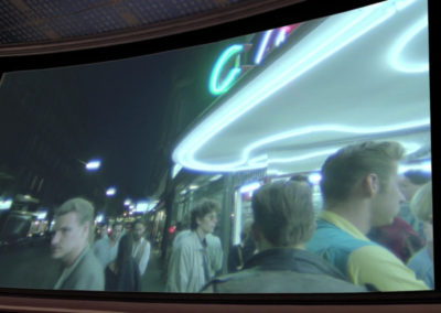 Filmcasino, Kinoleinwand