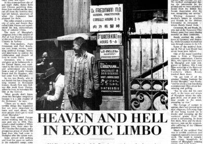 Sydney Morning Herald, 13.11.99
